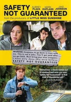 Safety Not Guaranteed DVD Cover Art