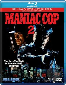 Maniac Cop 2 BRAY Cover Art