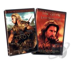 Troy/Last Samurai DVD Cover Art