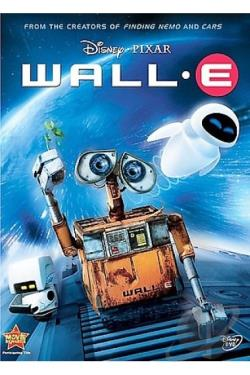 Wall-E DVD Cover Art
