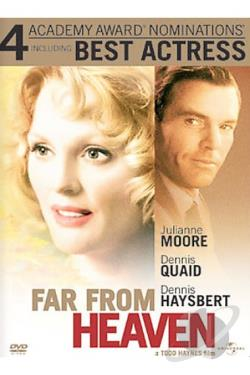 Far From Heaven DVD Cover Art