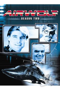 Airwolf - Season 2 DVD Cover Art