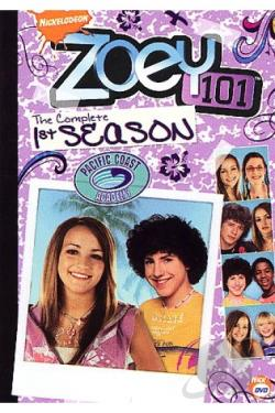 Zoey 101 - The Complete First Season DVD Cover Art