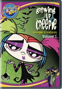 Growing Up Creepie - Vol. 1 DVD Cover Art