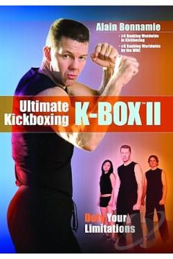 Ultimate Kickboxing: Kbox II DVD Cover Art