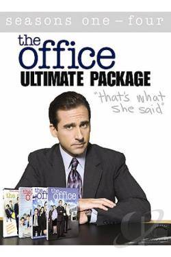 Office - Seasons 1-4 Collection DVD Cover Art