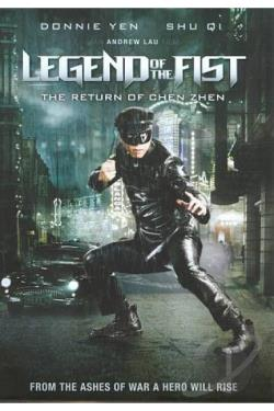 Legend of the Fist: The Return of Chen Zhen DVD Cover Art