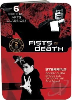 Fists of Death Collection DVD Cover Art