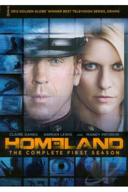 Homeland - The Complete First Season DVD Cover Art