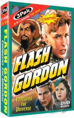 Flash Gordon Conquers the Universe DVD Cover Art