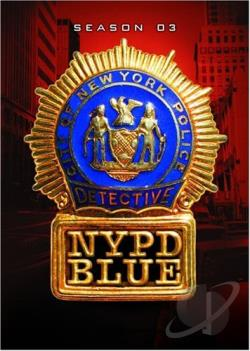 NYPD Blue - The Complete Third Season DVD Cover Art