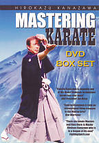 Kanazawa's Mastering Karate Box Set DVD Cover Art