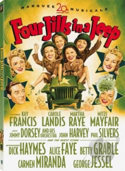 Four Jills in a Jeep DVD Cover Art