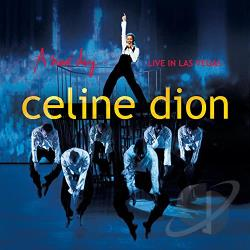 Celine Dion - Live in Las Vegas: A New Day... DVD Cover Art
