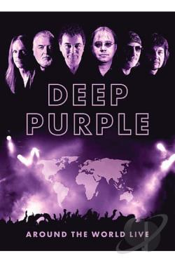 Deep Purple - Around the World Live DVD Cover Art
