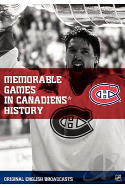 NHL - Greatest Games in Montreal Canadiens History DVD Cover Art