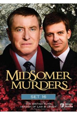 Midsomer Murders - Set 16 DVD Cover Art
