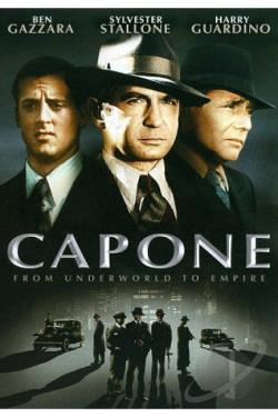 Capone DVD Cover Art