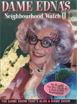 Dame Edna's Neighbourhood Watch II DVD Cover Art