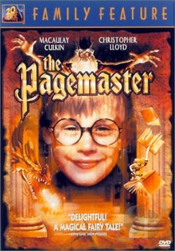 Pagemaster DVD Cover Art