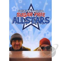 Sugar Free Allstars: Gettin' Funky with the Sugar Free Allstars DVD Cover Art