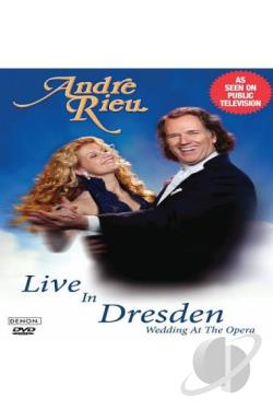 Andre Rieu: Live in Dresden - Wedding at the Opera DVD Cover Art