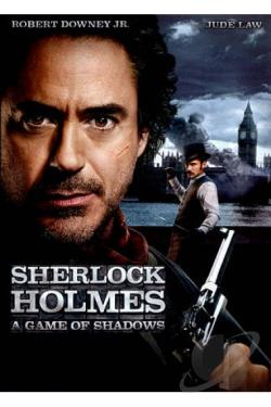 Sherlock Holmes: A Game of Shadows DVD Cover Art