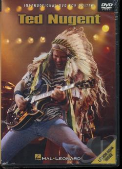 Ted Nugent: Instructional DVD for Guitar DVD Cover Art