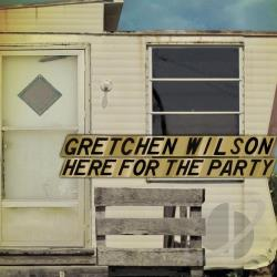 Wilson, Gretchen - Here For The Party: CD/DVD DVD Cover Art