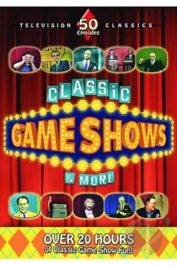 Classic Game Shows & More DVD Cover Art