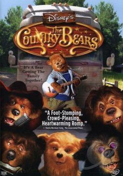 Country Bears DVD Cover Art