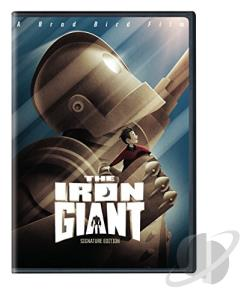 Iron Giant DVD Cover Art