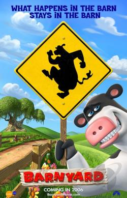 Barnyard DVD Cover Art