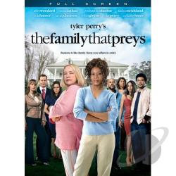 Tyler Perry's The Family That Preys DVD Cover Art