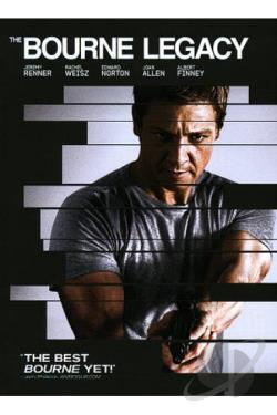Bourne Legacy DVD Cover Art