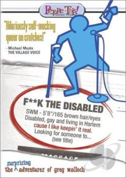 F**k the Disabled DVD Cover Art