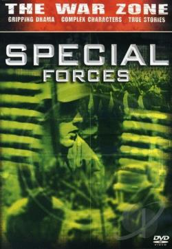 War Zone - Special Forces DVD Cover Art