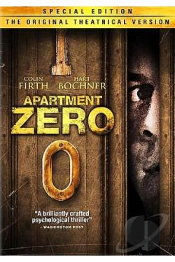 Apartment Zero DVD Cover Art