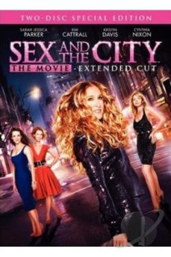 Sex and the City - The Movie DVD Cover Art