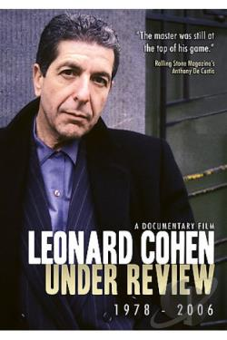 Leonard Cohen - Under Review: 1978-2006 DVD Cover Art