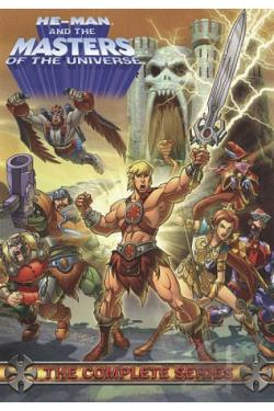 He-Man and the Masters of the Universe - The Complete Series DVD Cover Art