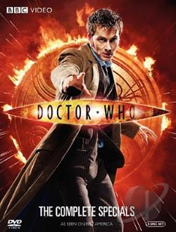 Doctor Who - The Complete Specials DVD Cover Art