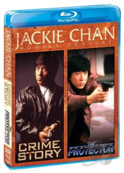 Jackie Chan Double Feature: Crime Story/The Protector BRAY Cover Art