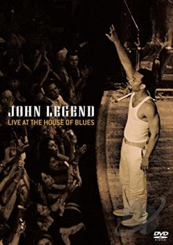 John Legend - Live at the House of Blues DVD Cover Art