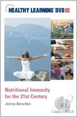 Nutritional Immunity For The 21ST Century DVD Cover Art