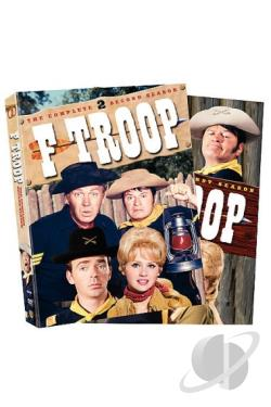 F-Troop - The Complete Seasons 1 & 2 DVD Cover Art
