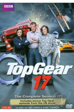 Top Gear - The Complete Seventeenth Season DVD Cover Art