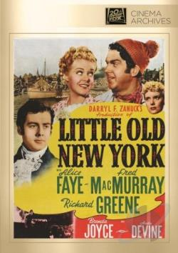 Little Old New York DVD Cover Art