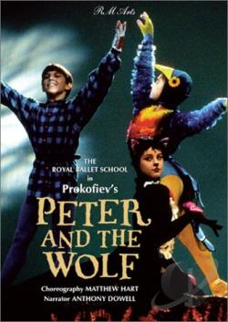 Peter And The Wolf: Prokofiev DVD Cover Art