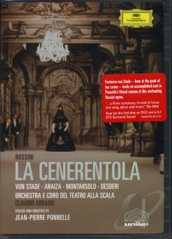 Rossini: La Cenerentola DVD Cover Art